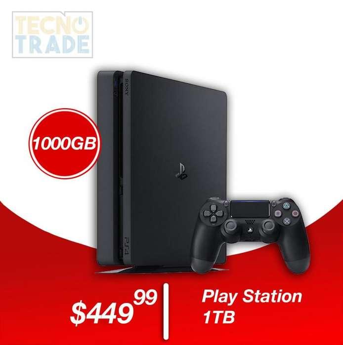 Ps4 Play Station 4 Slim Sony 1TB Envíos A Nivel Nacional