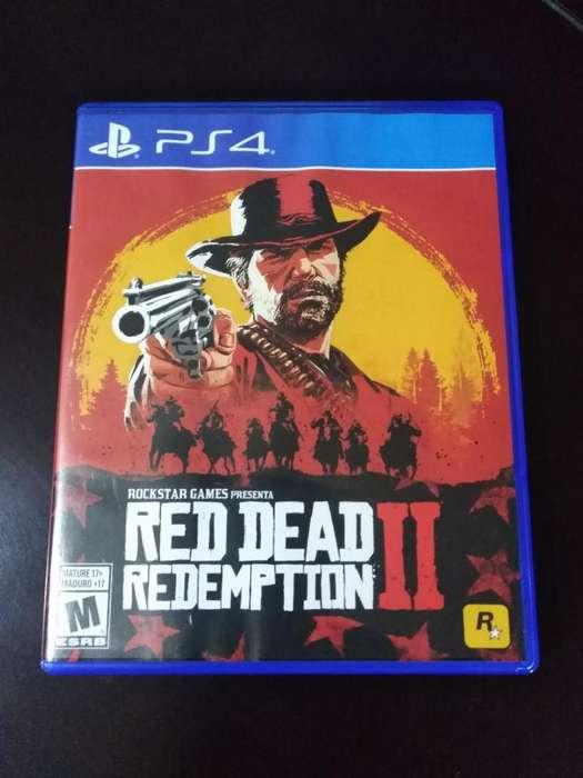 Vendo Red Dead Redemption 2 Ps4