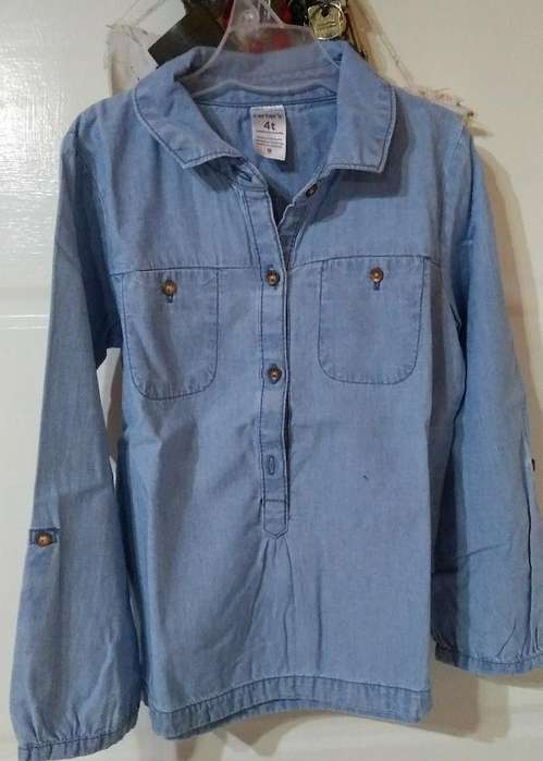 Vendo Camisa Carters vendo Camisa T4