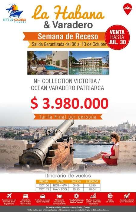 Habana y Varadero