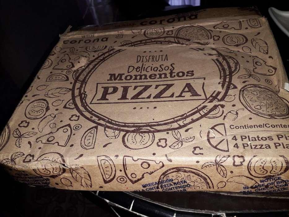 Vendo Platos para Pizzas