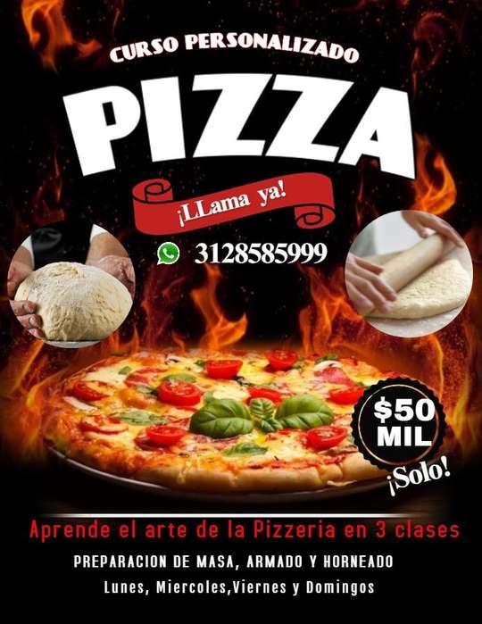 Curso de pizzeria personalizado Garantizado