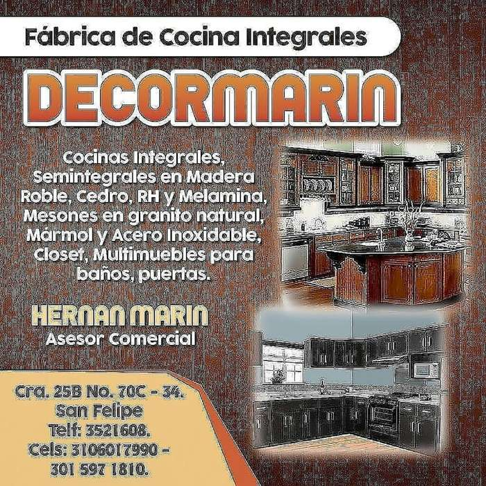 Fabrica de Cocinas Integrales Decormarin