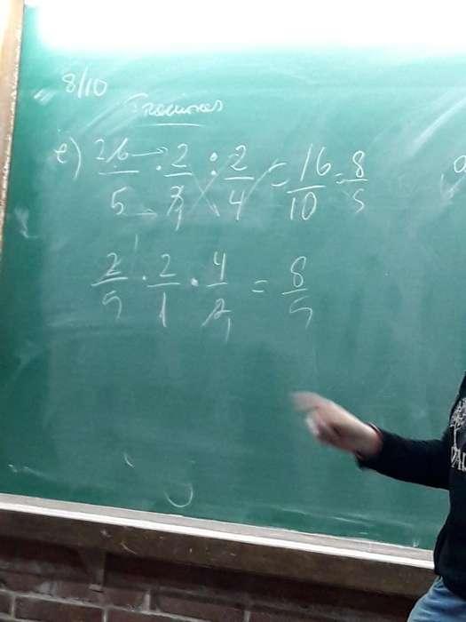 Busco Profesora de Matemáticas.