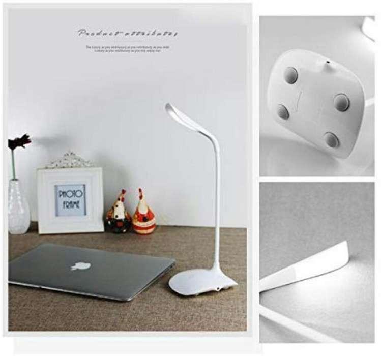 Lámpara De Escritorio Led Recargable Luz Blanca