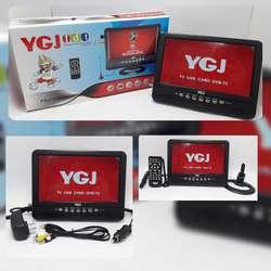 Tv Portatil 9 Pulgadas Td Recargable