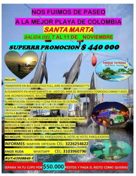 Excursiones a Santa Marta