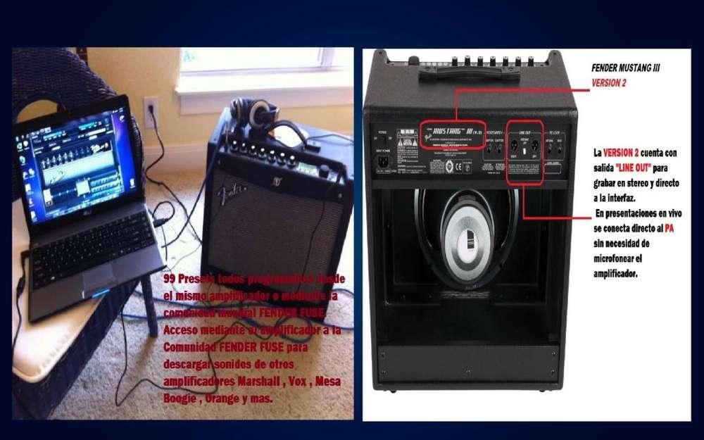 Amplificador FENDER MUSTANG 3 V2