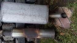 silenciador  catalizador de vw fox original usado