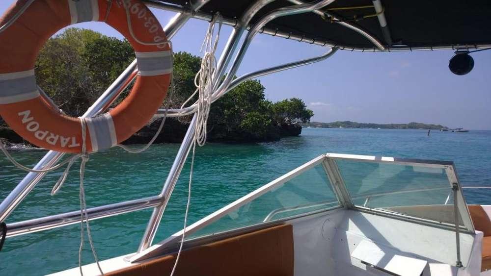 Alquiler lancha: Islas del Rosario, Cholón, Isla Grande, etc