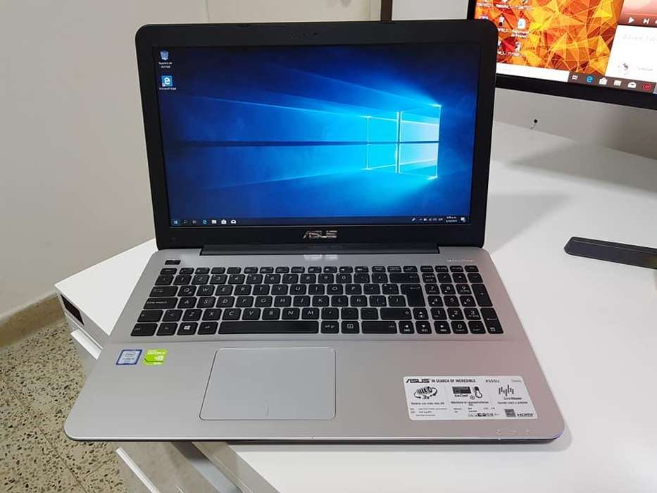 PORTATIL ASUS X555U i5 6ta To 2.80GHZ, 8GB RAM DDR3, 1TB DISCO, NVIDIA 940M 2GB DEDICADO DDR3, PARLANTES MALOS