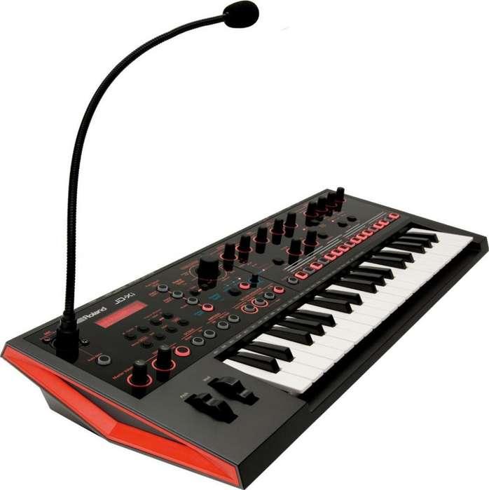 Sintetizador Roland JdXi AnalogoDigital vocoder con Bolso