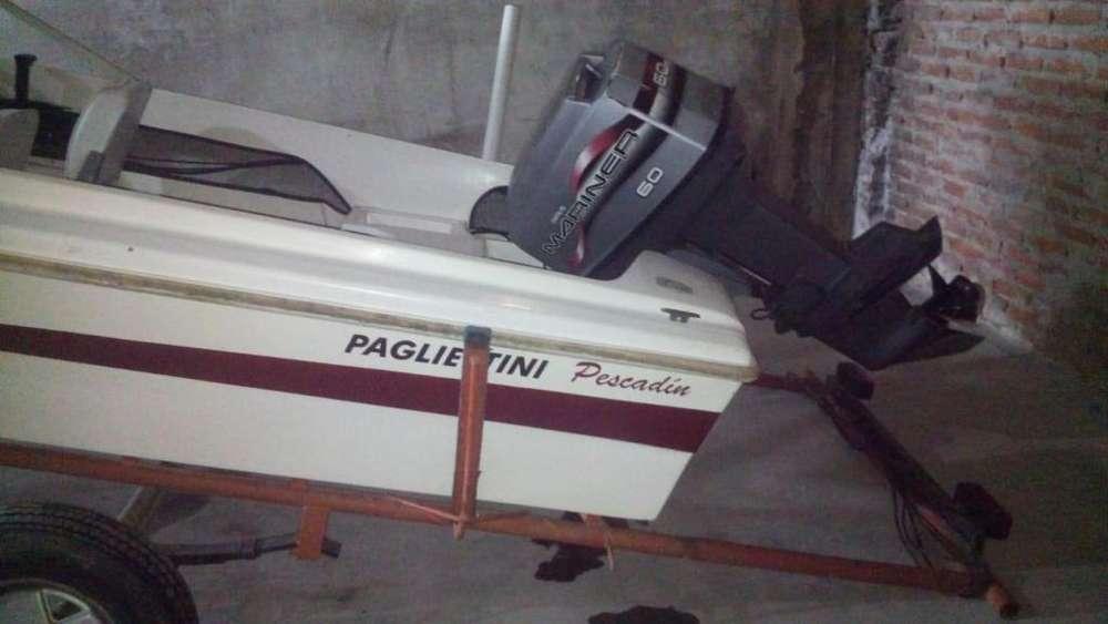 pagliettini 4.45 con mariner 60 hp