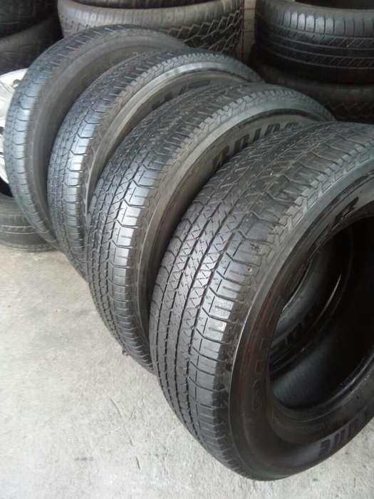 Cuatro <strong>llantas</strong> Bridgestone 265 /65/17