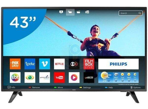 Vendo TV Philips 43 Pulgadas LED Full HD 1080 Smart