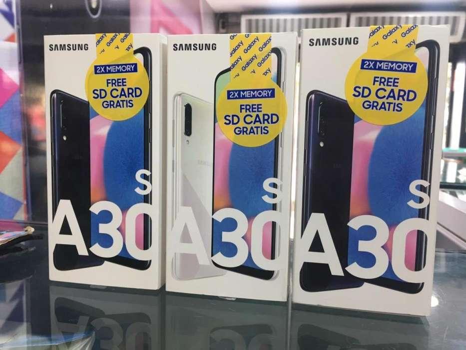 Samsung A30S 64GB Triple Cámara Nuevos Sellados