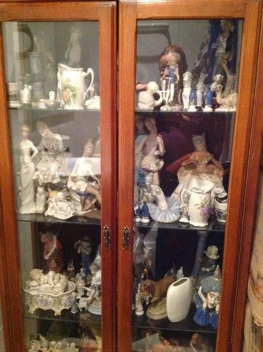 Gangazo: Preciosa Y Elegante Porcelanera