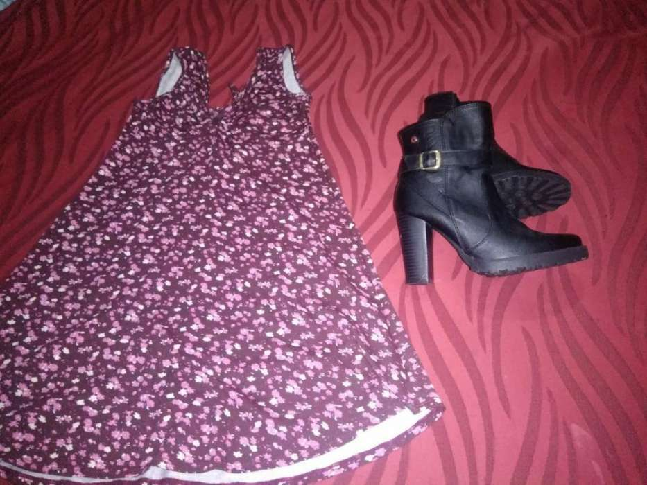 Vestido Y Botines