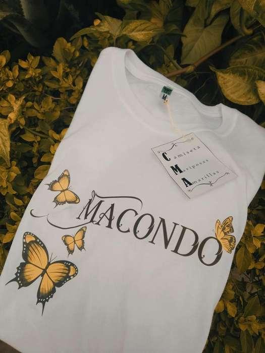 Camiseta Macondo