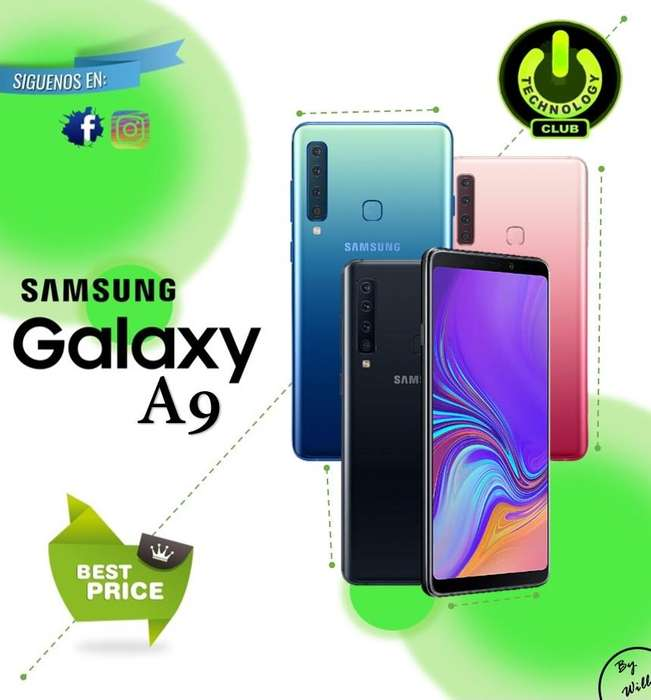 Cyber Wow Samsung A9 6 <strong>camara</strong>s 24 Megapixeles / Tienda física Centro de Trujillo / Celulares sellados Garantia 12 Meses