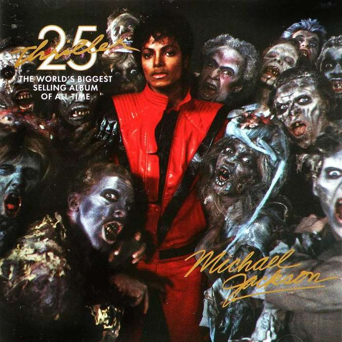 vendo michael jackson thriller cd dvd 25 aniversario