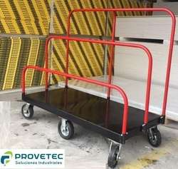 Carro Zorra Carreta Placas Durlock Tableros Madera 700kg Somos fabricantes