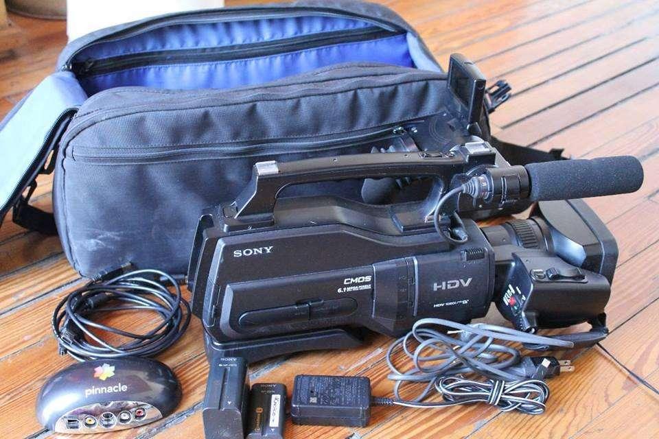 Camara de video Sony HDV 1000n