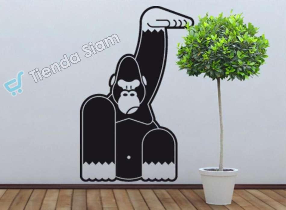 Vinilo Deco Gorila