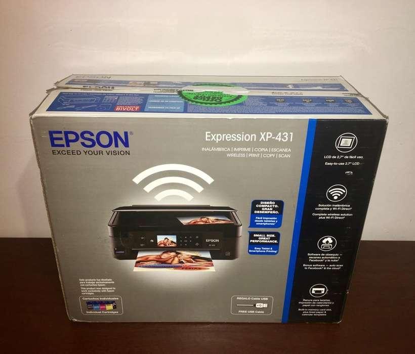 Impresora Epson Xp-431 sin Cabezal Nueva