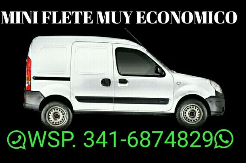 Mini Fletes Economico. Mandar Whats App