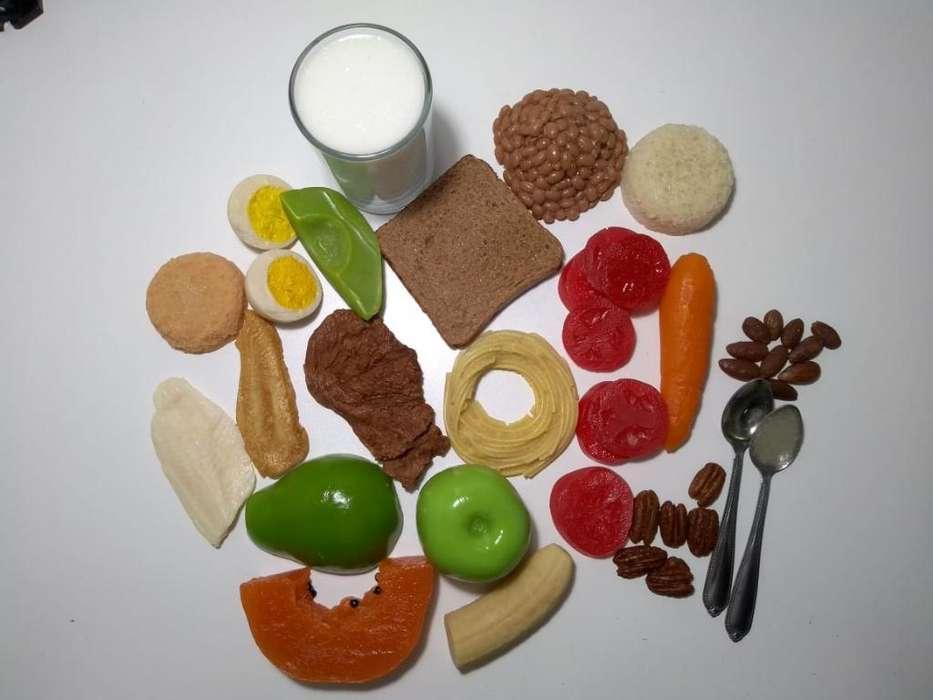 Replica de Alimentos para Nutricionistas