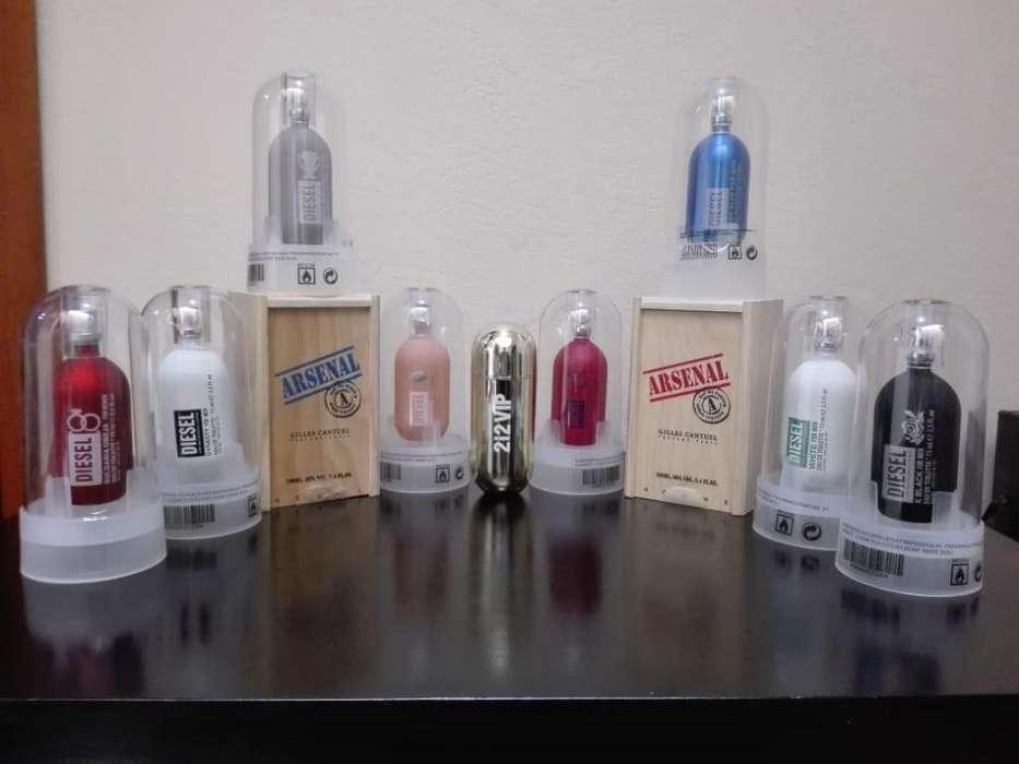 Perfumería Damas Caballeros Diesel 40000