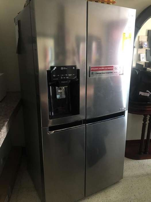 Refrigeradora Lg Doble Puerta de Paquete