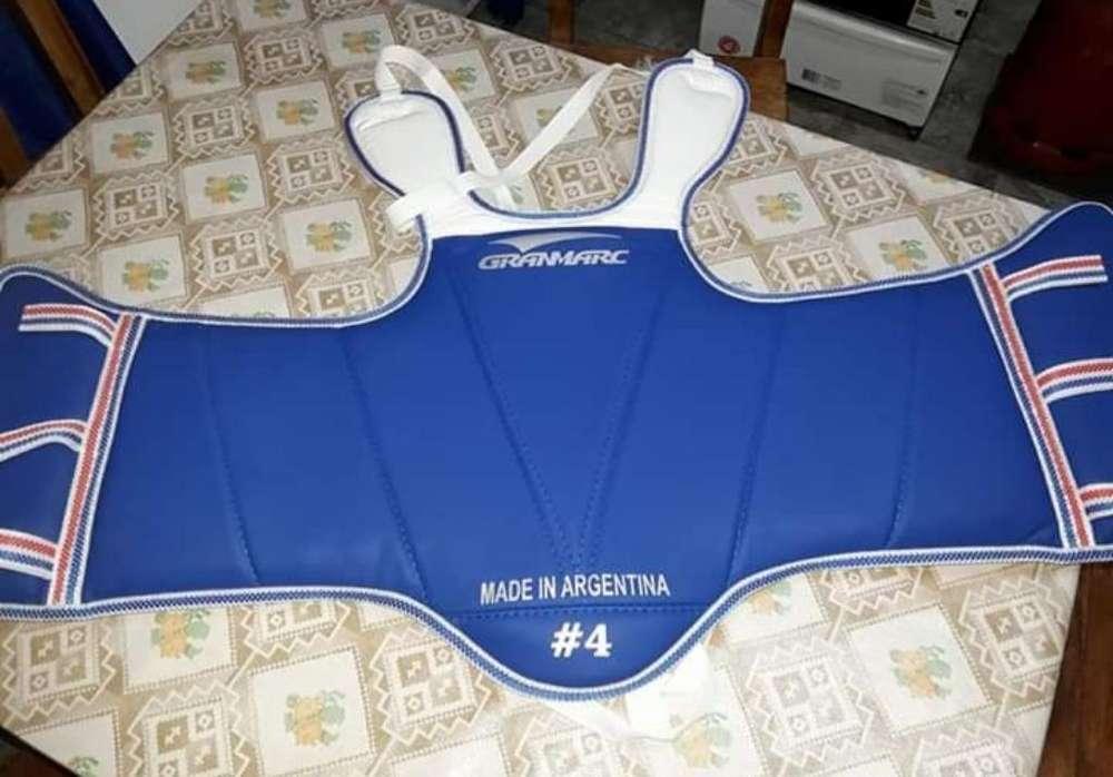 Pechera Taekwondo Reversible