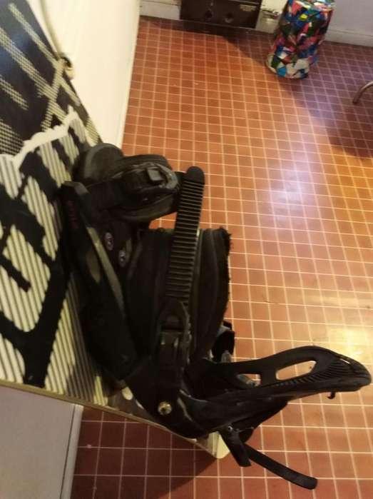 Tabla snowboard nitro Wide 63 con fijaciones y botas