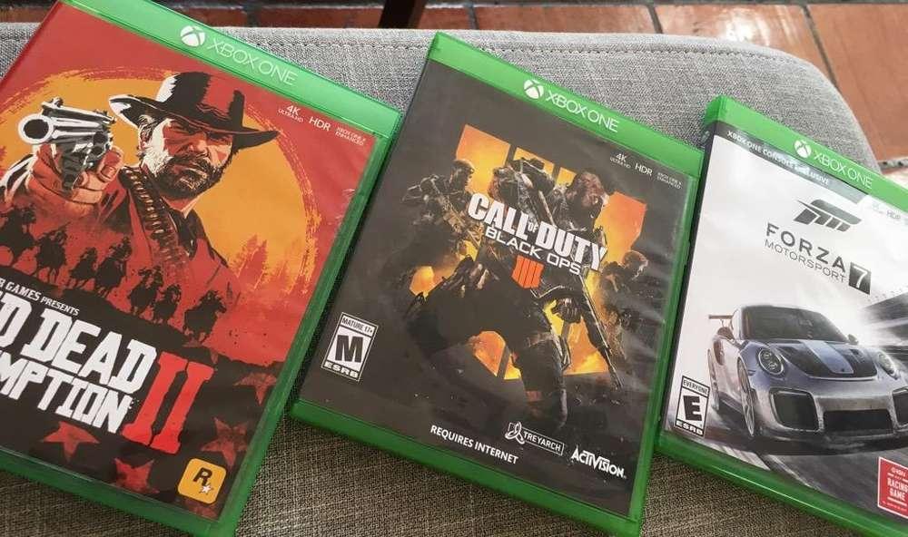 Vendo Juegos Xbox One X