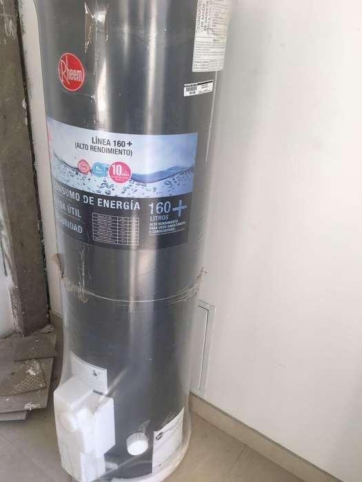 Termotanque Rheem 160 Litros Alta Potencia Gas Natural NUEVO