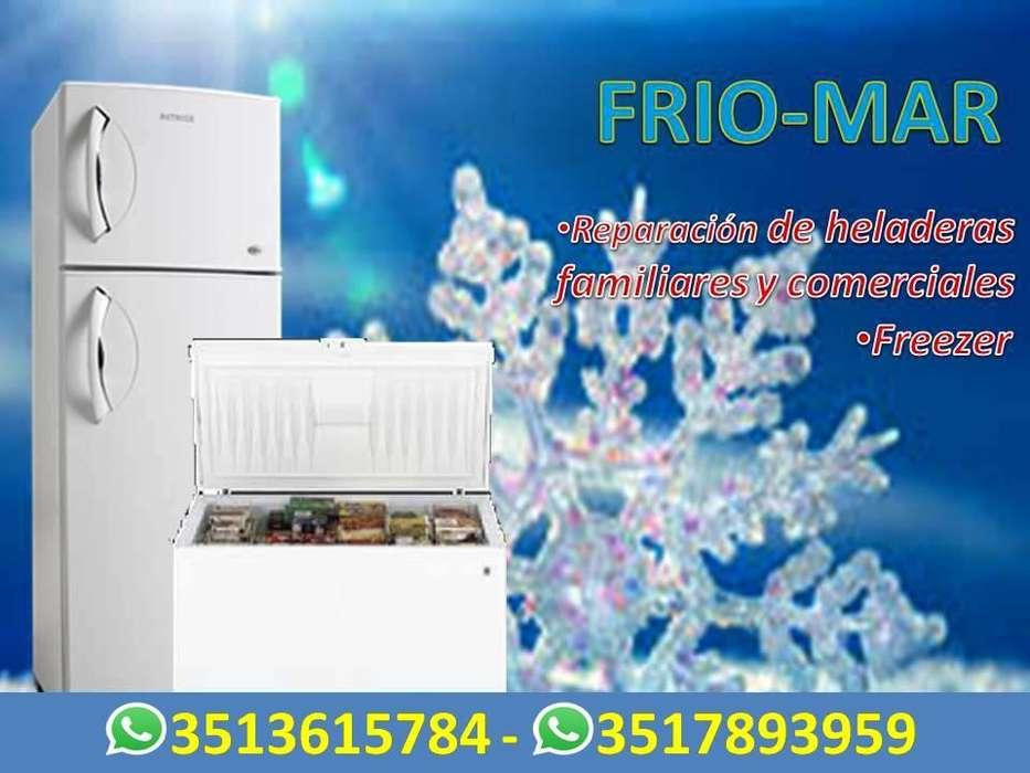 Reparacion de Heladeras Familiares, Comerciales, Freezers