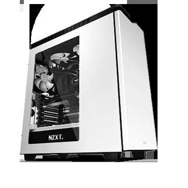 Gabinete Gamer Nzxt H440 White-black
