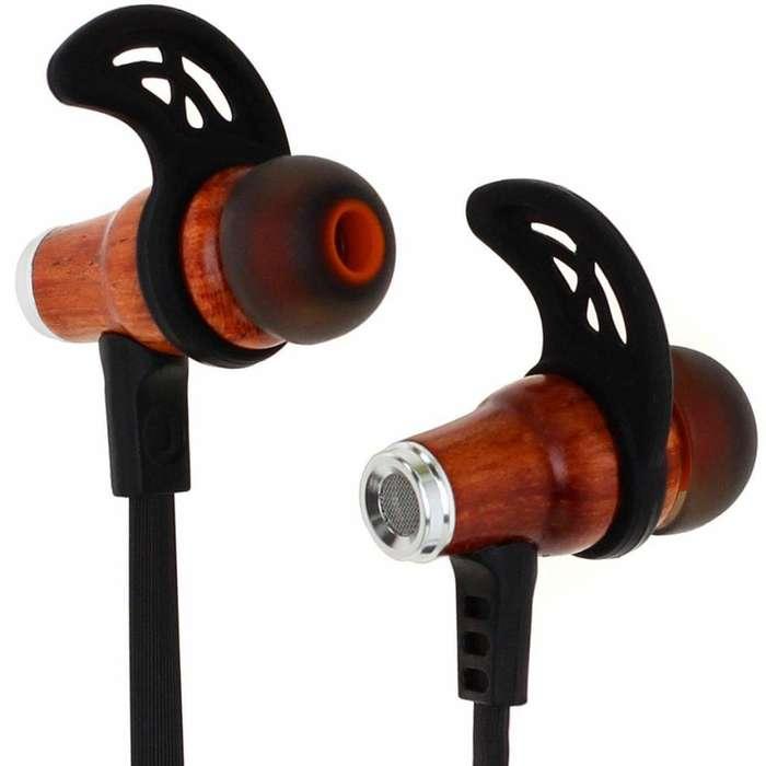 ¡OFERTA! NUEVOS Audifonos Symphonized Nrg W Bluetooth Madera Negros