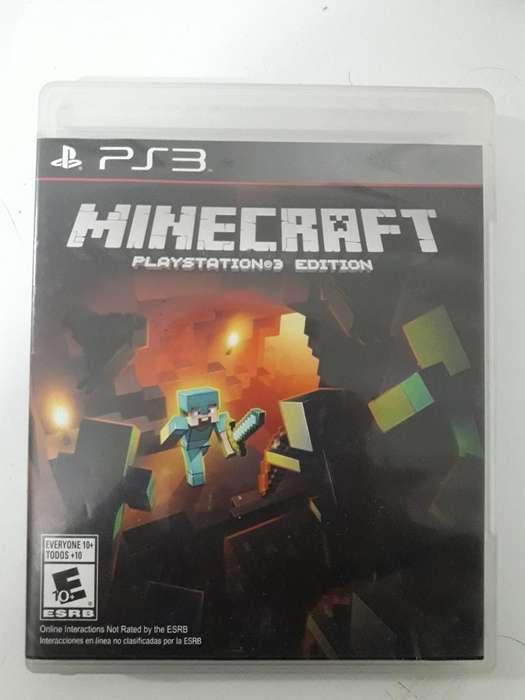 Minecraft Playstation 3 - Ps3