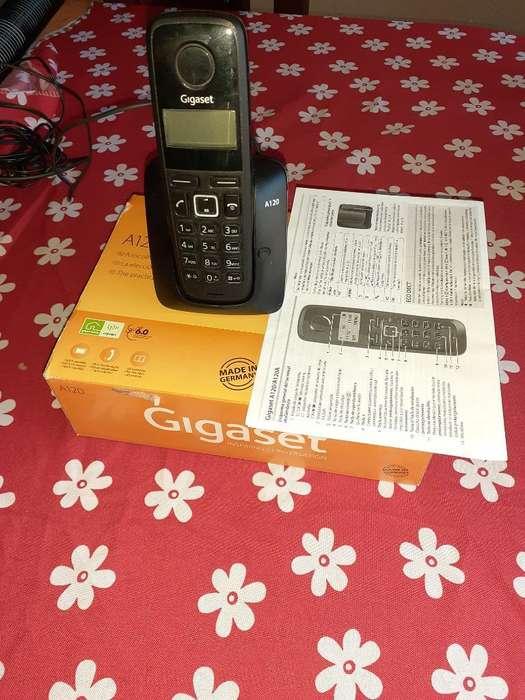 Vendo Telefono Inalámbrico Gigaset a 120