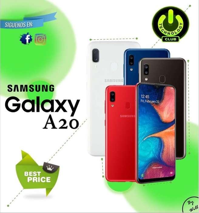 Samsung A20 Dual <strong>camara</strong> todo pantalla / Tienda física Centro de Trujillo / Celulares sellados Garantia 12 Meses