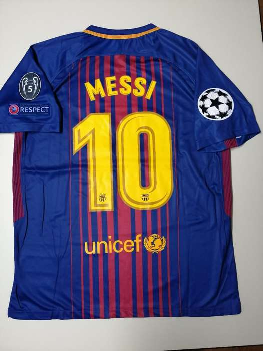 Camiseta Barcelona Messi Champions