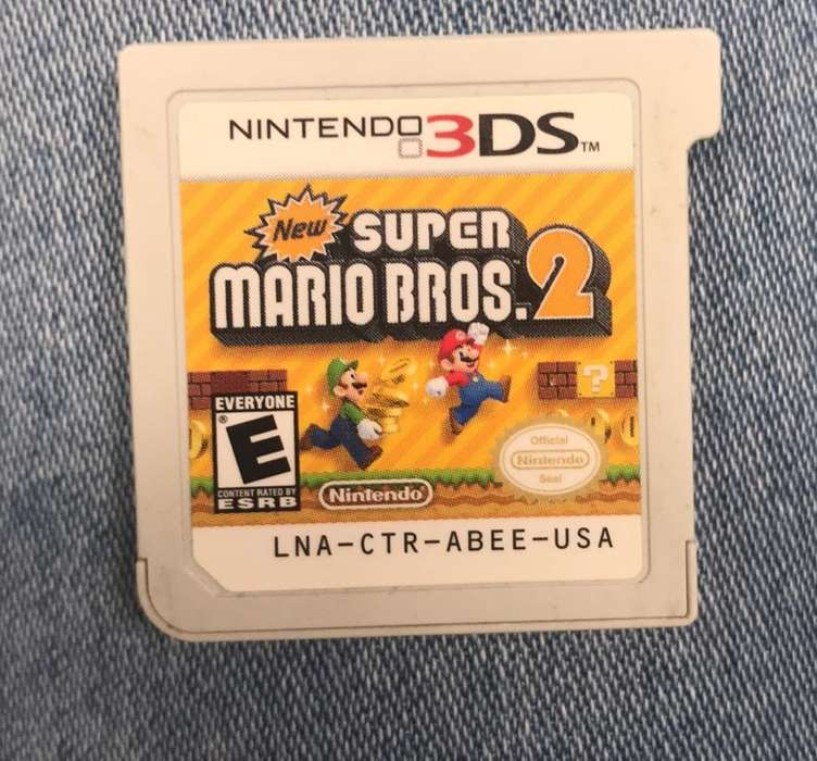 New Super Mario Bros 2 Nintendo3DS
