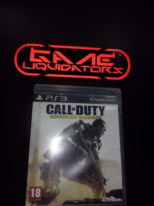CALL OF DUTY ADVANCE WARFARE PS3