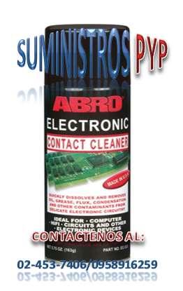Limpia Contactos Abro Electrónicos & Eléctricos