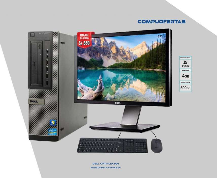 DELL OPTIPLEX 990 CORE I5 CON MONITOR DE 22