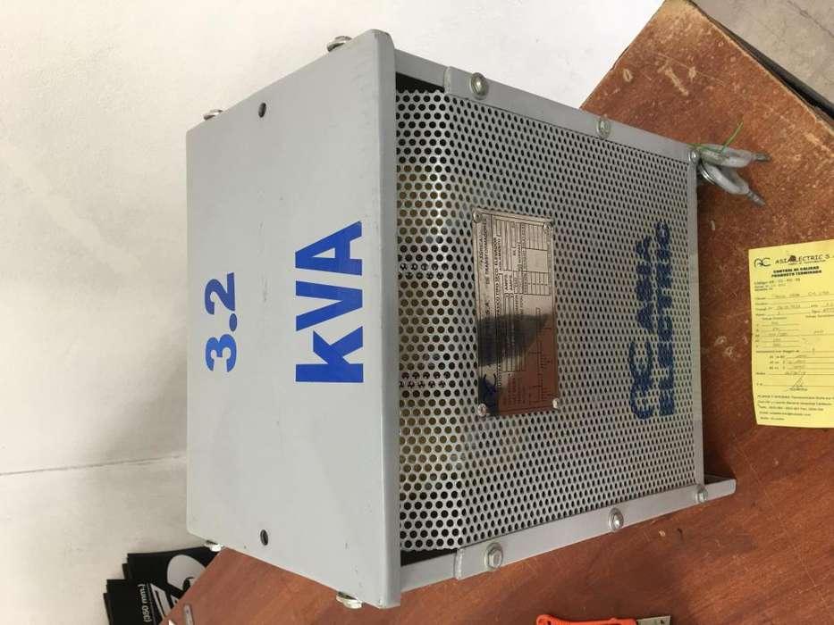 Transformador De 220v A Trifásico Nuevo Sin Uso De Remate