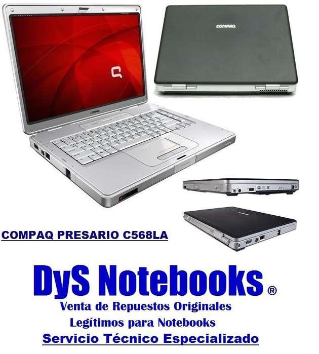 REPUESTOS COMPAQ PRESARIO C568LA PANTALLA WIDESCREEN IMPECABLE
